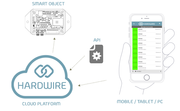 Remote control in real-time